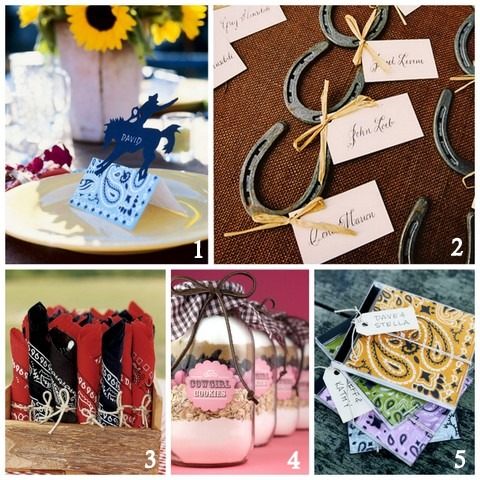 western style fall party ideas flowers horseshoes