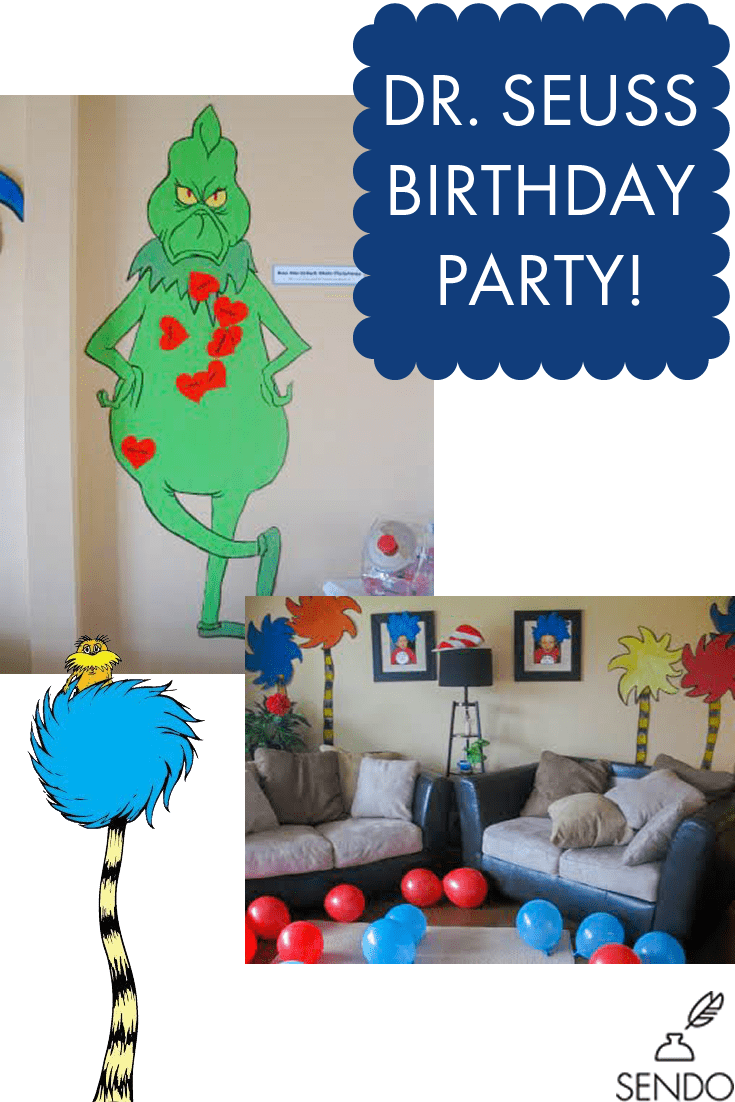 Dr. Seuss Birthday Party Ideas, Planning, Decorations