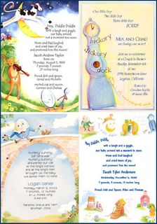 nursery rhyme baby shower theme ideas invitations