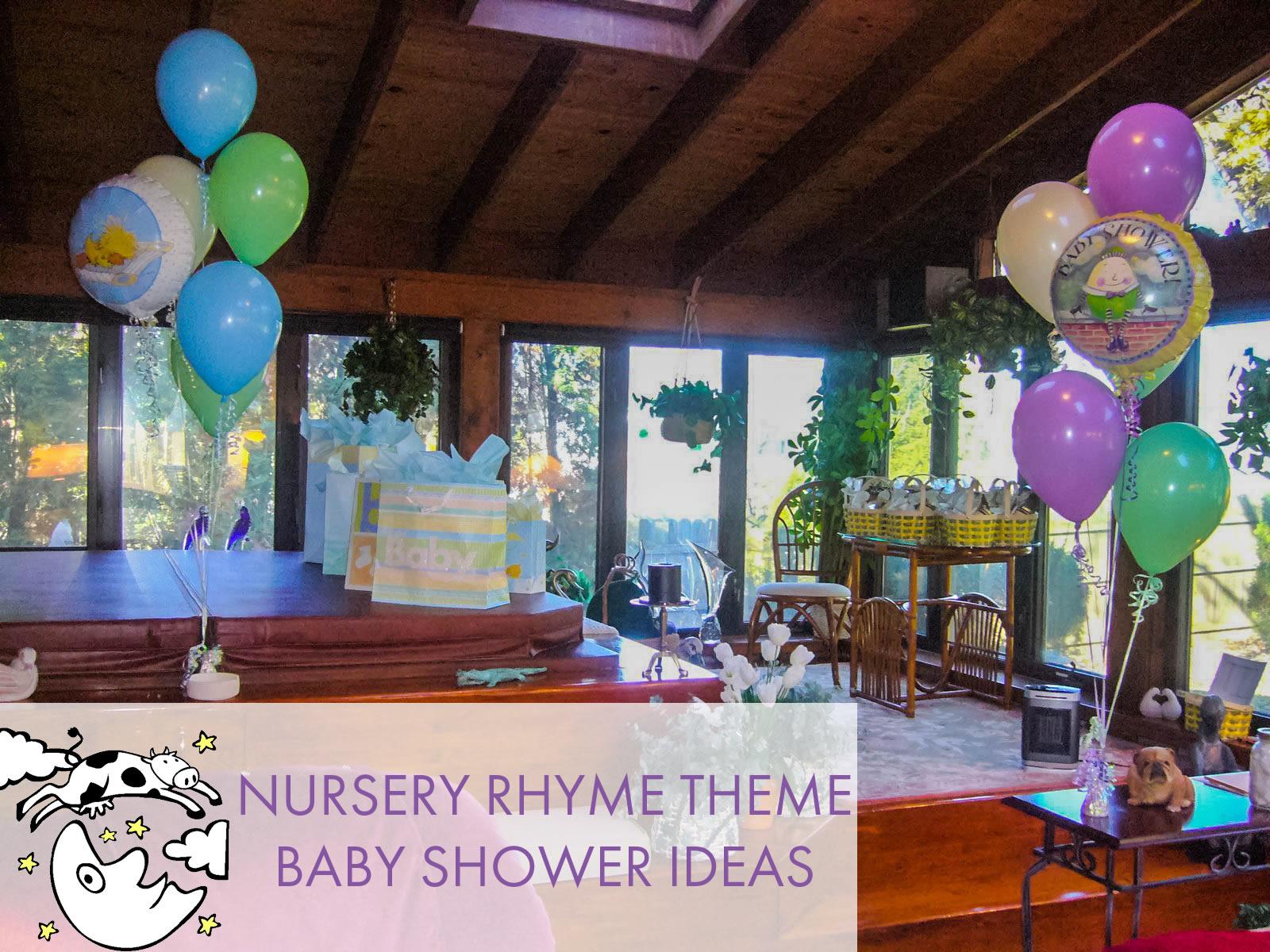 Nursery Rhyme Baby Shower Theme Ideas & Inspiration | The Sendo Blog