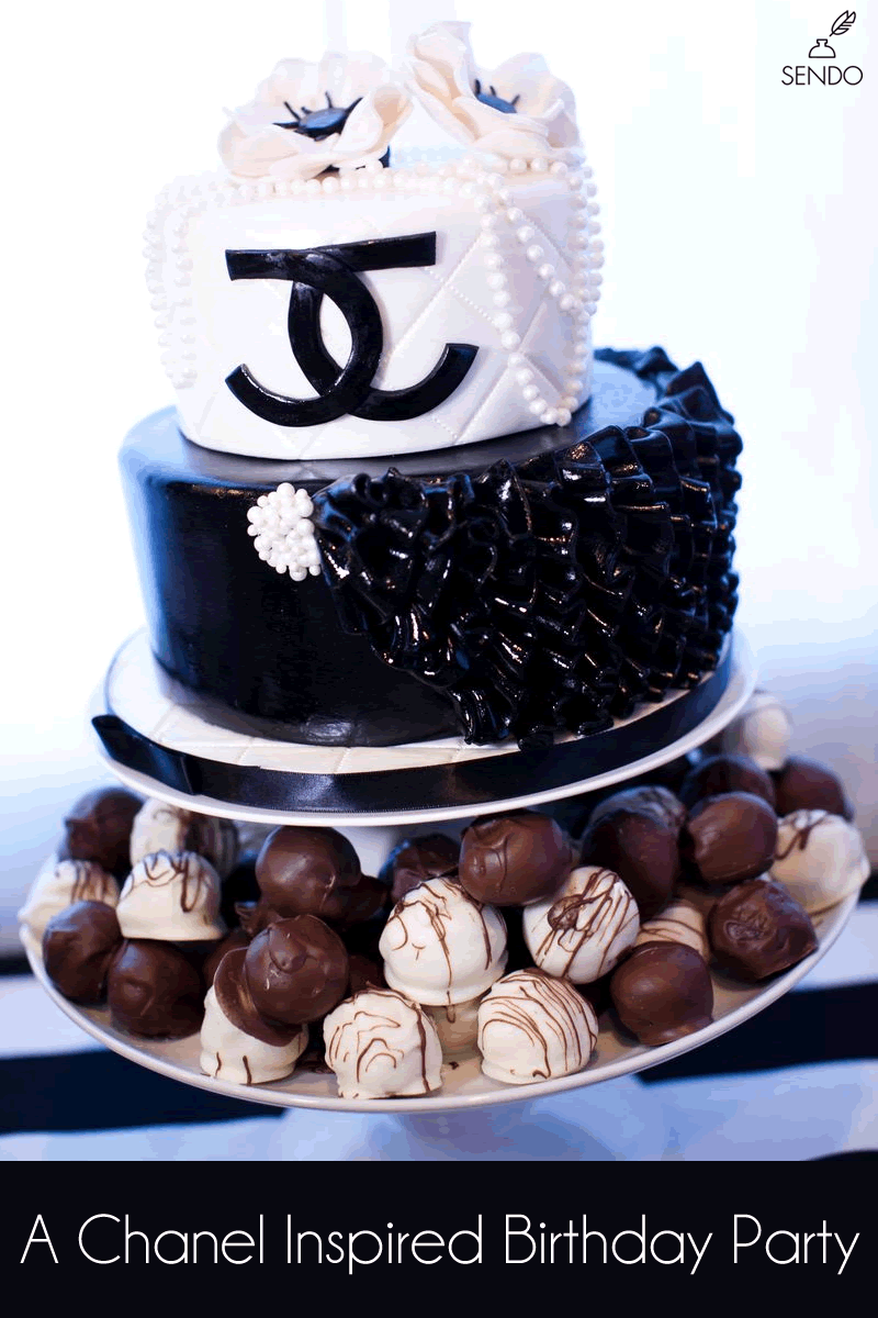 chanel party theme birthday