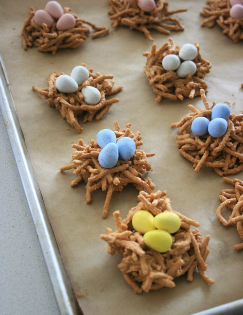 Nest Egg Easter Cookies