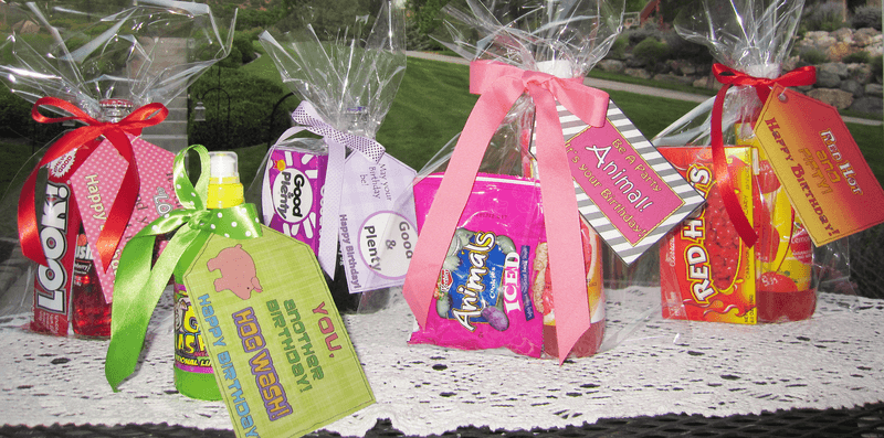 Clever Printable Candy Gift Tags for Birthdays - Sendo ...
