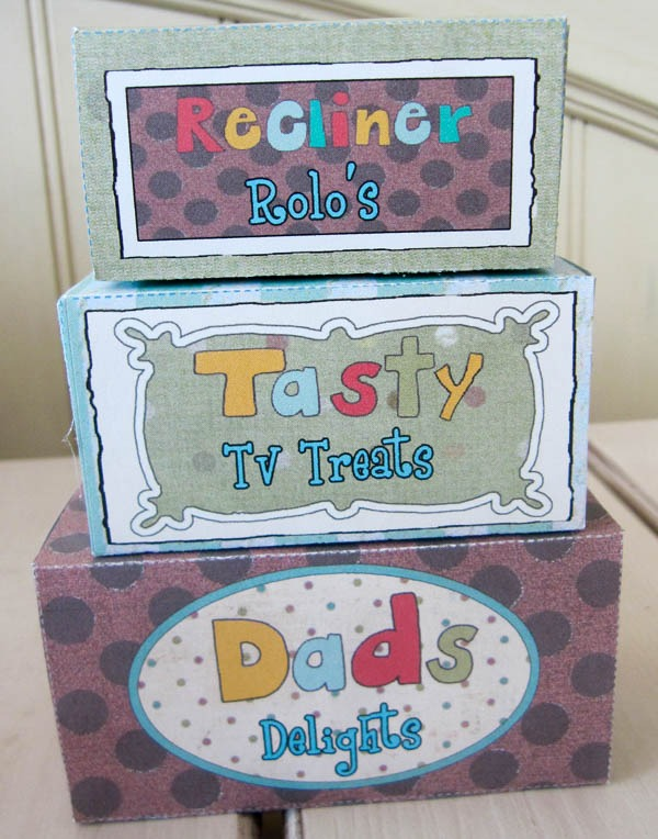 homemade Father's day survival kit DIY gift printables candy treats