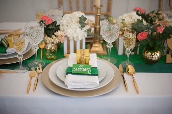 St Patrick's Day Table Top Ideas