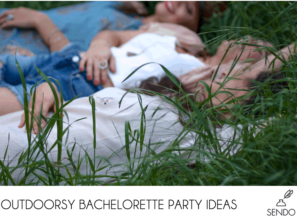 outdoorsy bachelorette party ideas camping glamping boating rafting
