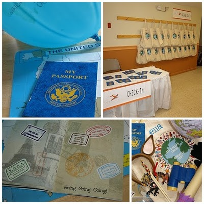 Amazing race adventure party ideas sendo invitations for Around the world party decoration ideas