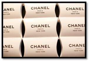 chanel party theme favors pillow box
