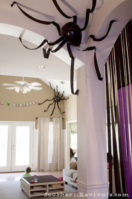Halloween Spider Balloons - Sendomatic