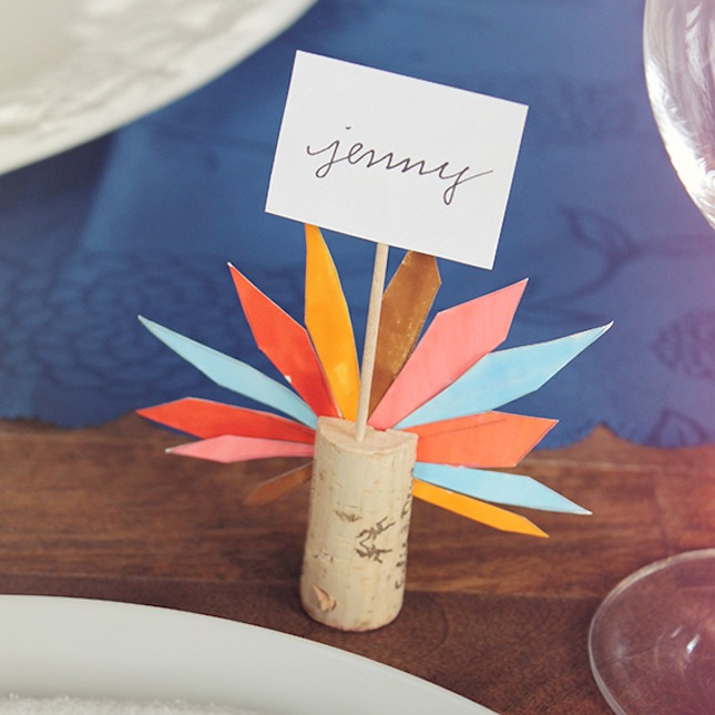 Cork Place Card