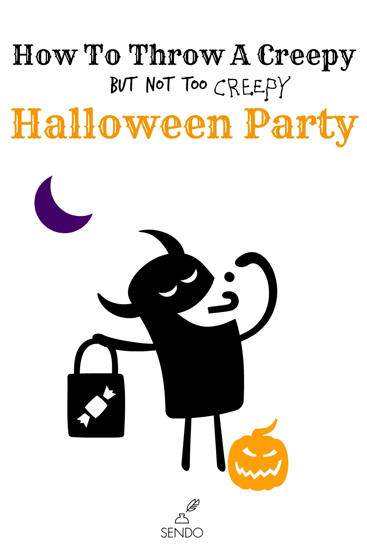 How To Throw a Creepy (but not too creepy) Halloween Party | Sendomatic Online Invitations