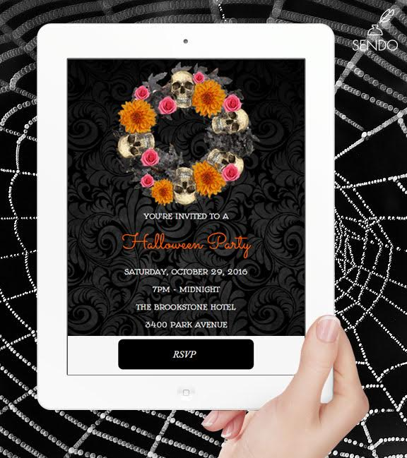 Online Halloween Party Invitations | Sendomatic.com