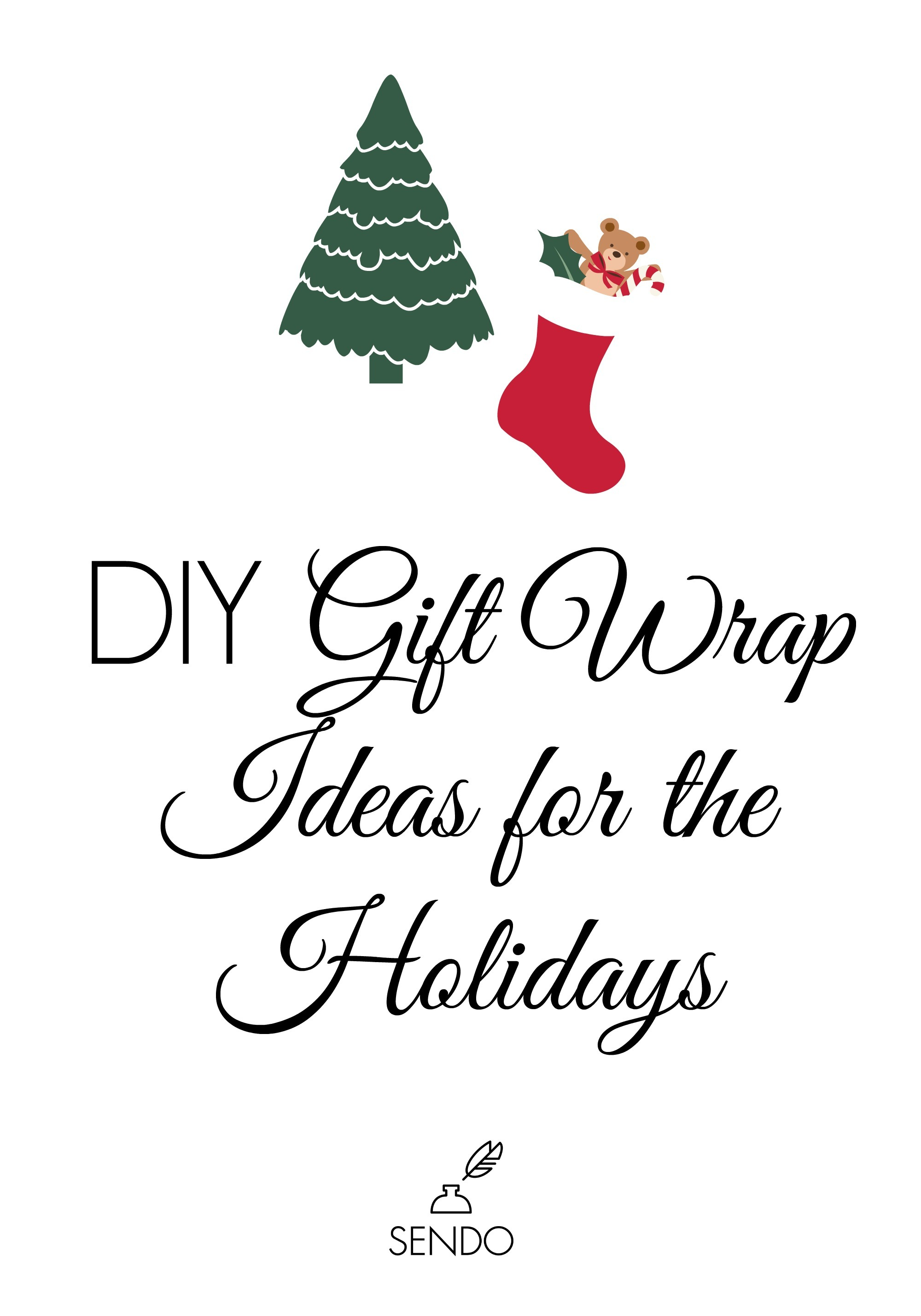 DIY Gift Wrap Ideas For The Holidays