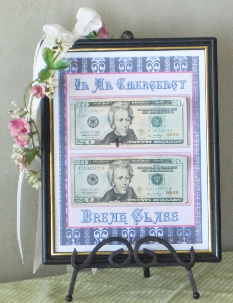 Quot In An Emergency Quot Graduation Gift The Sendo Blog
