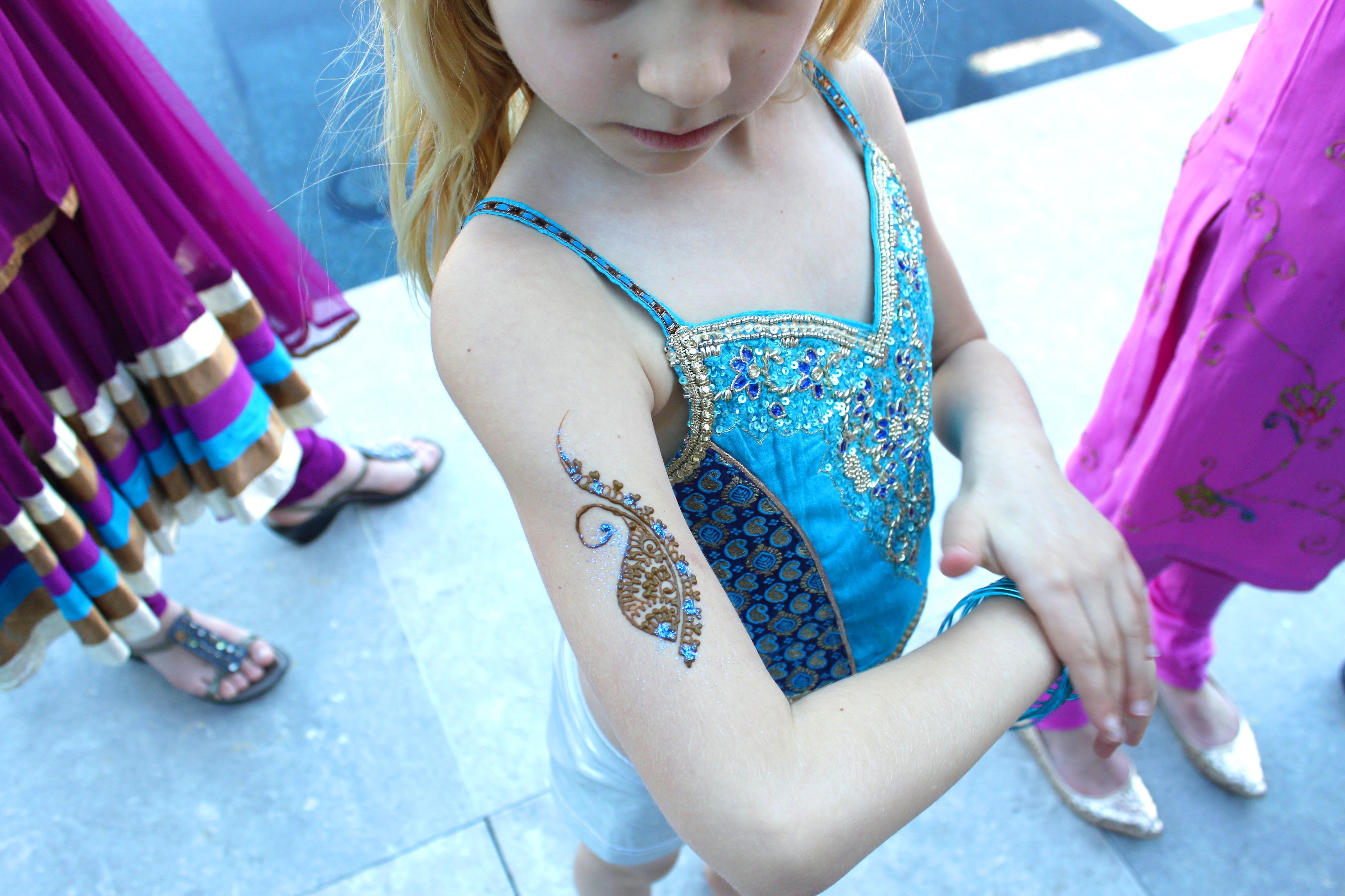 Henna on Child