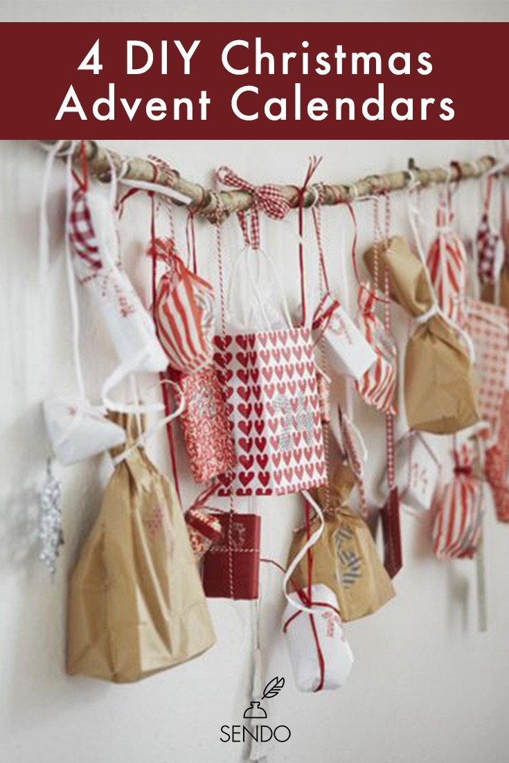 Try making a Advent Calendar this year with this design inspo!