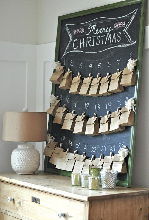 We put together 4 of our favorite DIY Christmas Advent Calendars that are SO easy to make. All you have to do is determine what you want to put in them.