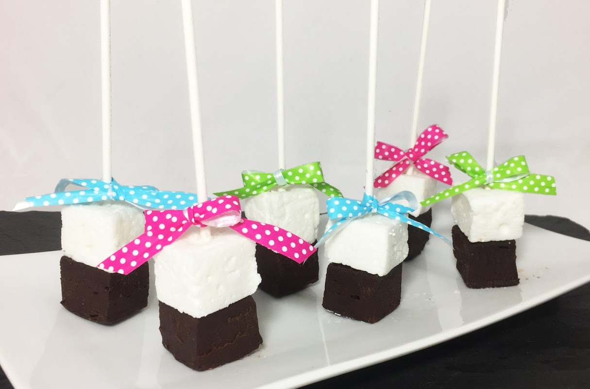 Darling Birthday Party Idea - Hot Coco on a Stick