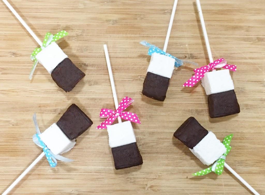 Hot Chocolate on a Stick!