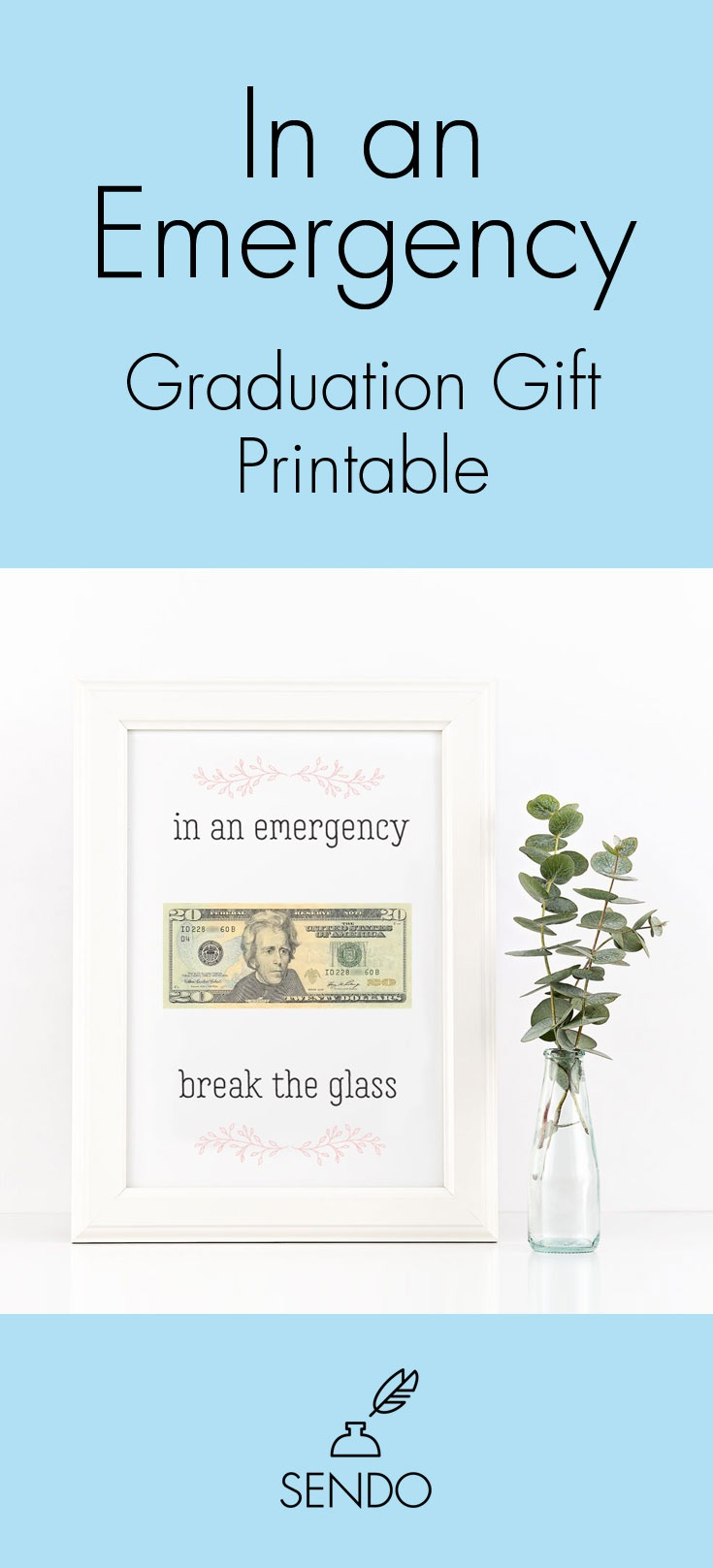 In an Emergency Printable Graduation Gift