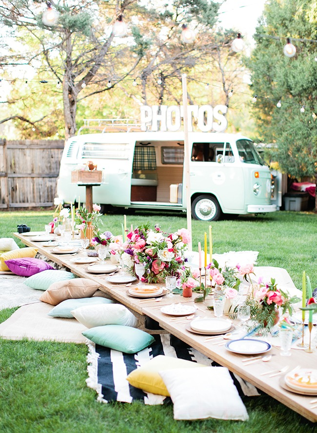 How to Throw a Boho Themed Summer Party