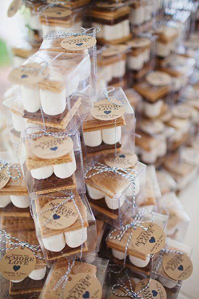 Six Wedding Cocktail Hour Ideas  #weddinginspo #marshmellows #weddingfavors #diy #weddingideas #wedding