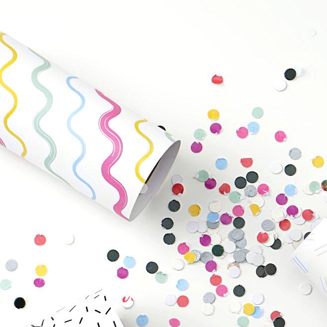 DIY Confetti Poppers #diy #confetti