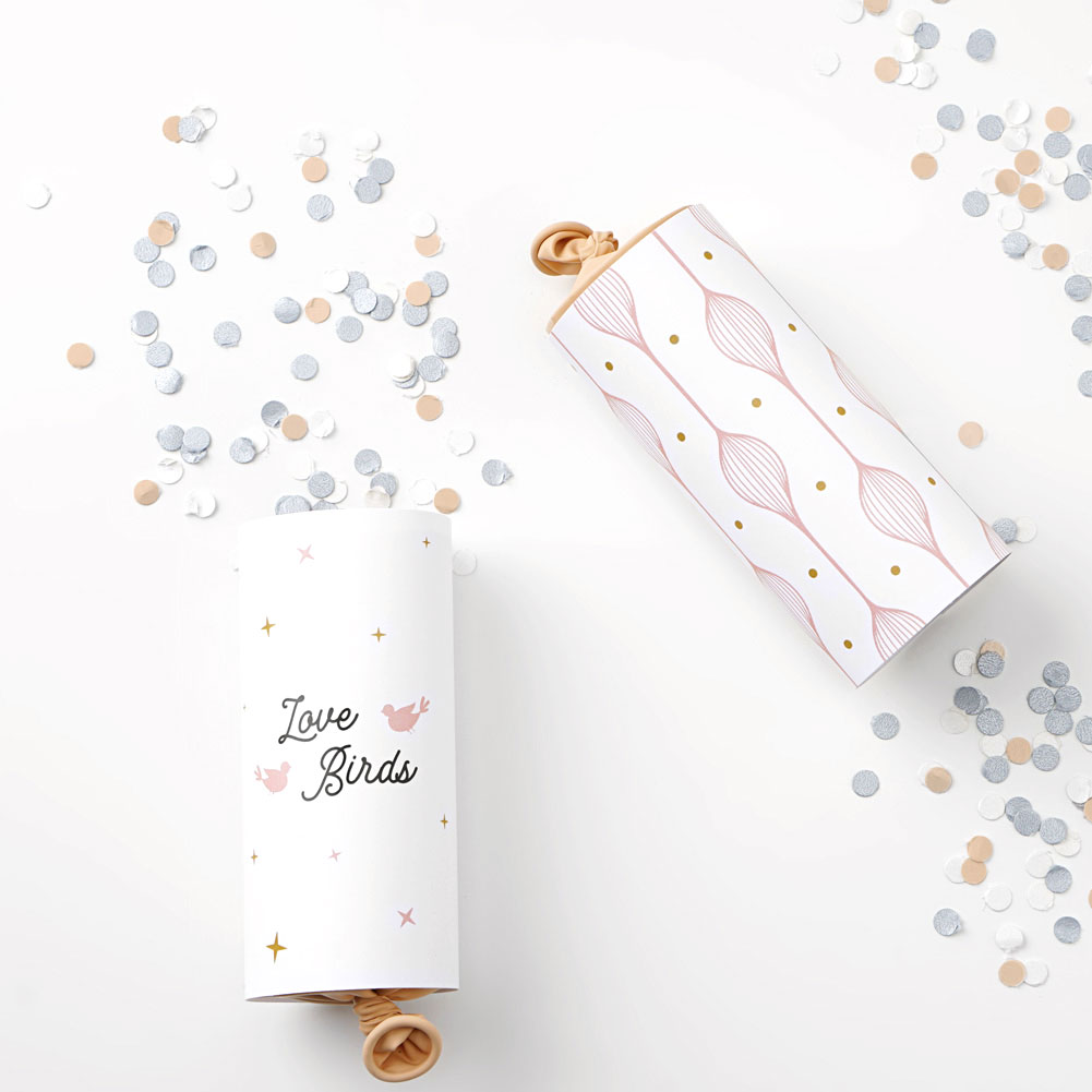 Confetti Poppers DIY