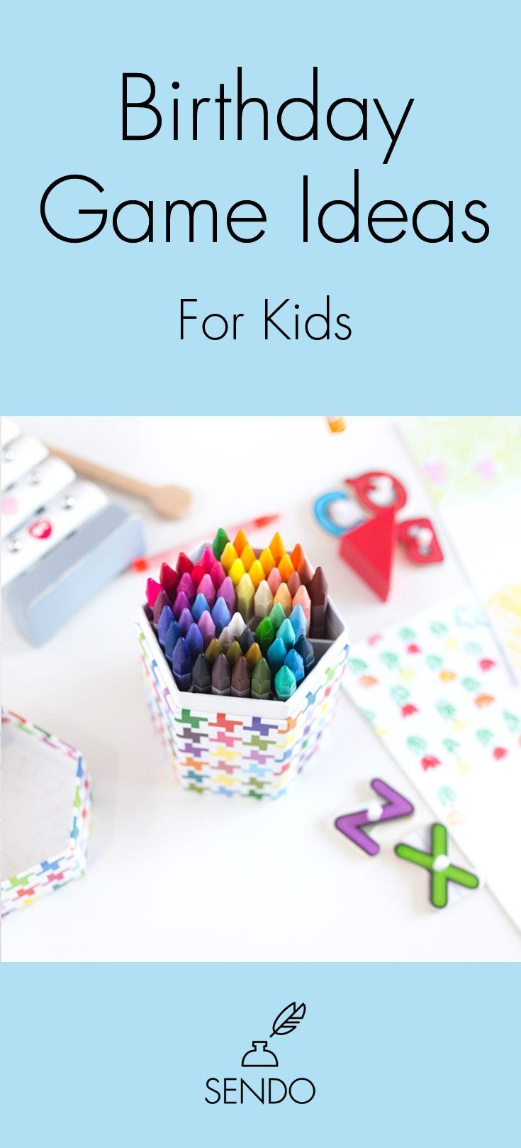 Birthday Game Ideas for Kids #kidsparty #birthdaygames #kidsbirthdayparty