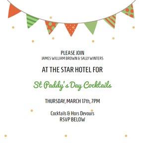 St Patrick's Day Invitations