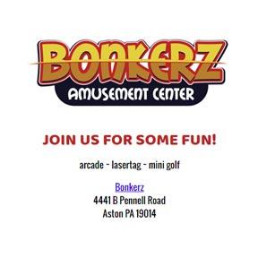 Branded Invitation - Bonkerz