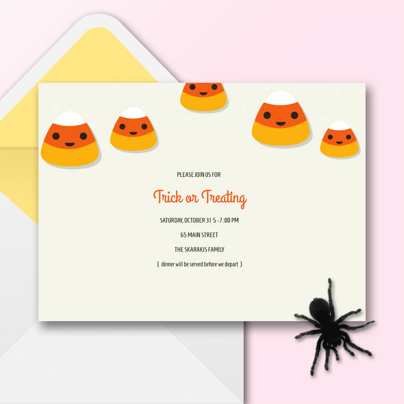 Online Halloween Invitations to Fright & Delight | Spook your guests with an invite from Sendo - Track RSVPs, Sell Tickets, Text Message Invites. Create and send an online invitation now!