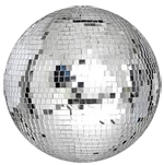 Disco Ball Online Invitation