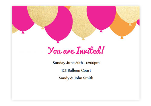 Animated Online Birthday Party Invitations – Online Birthday Invitation Cards