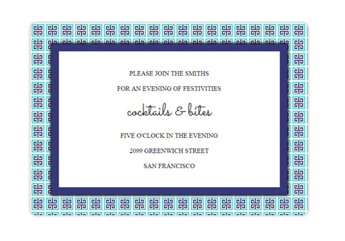 Online wedding invitations for the modern couple sendo geometric blue pattern filmwisefo