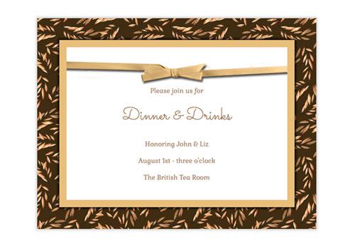 Send Stylish Online Thanksgiving Invitations