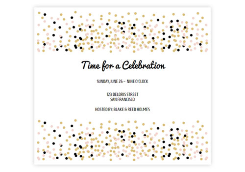 Online Anniversary Party Invitations