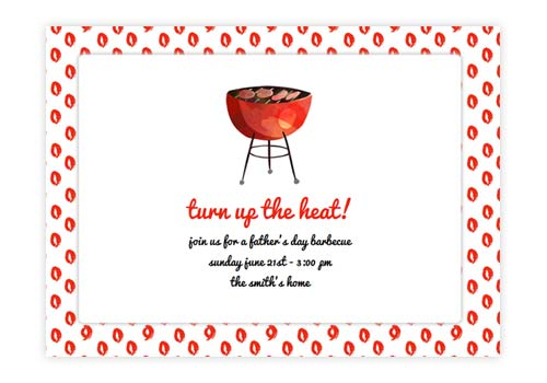 BBQ Pool Party Online Invitations