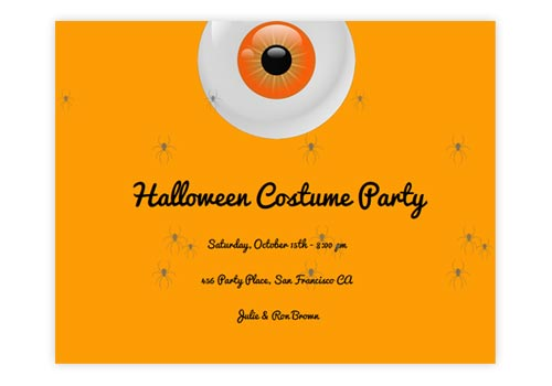 spooky animated online halloween invitations