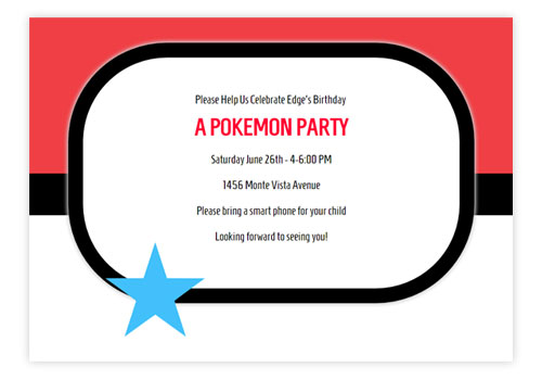 Kids Online Party Invitations – Online Party Invites