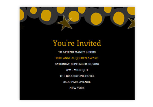Email Graduation Party Invites Amp Announcements