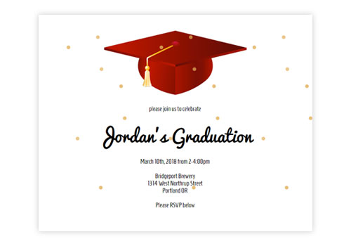 Online Graduation Invitations