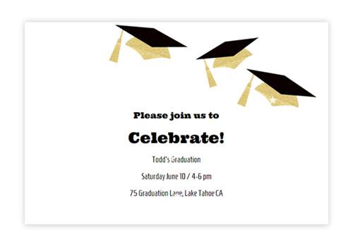 Online Graduation Invitations