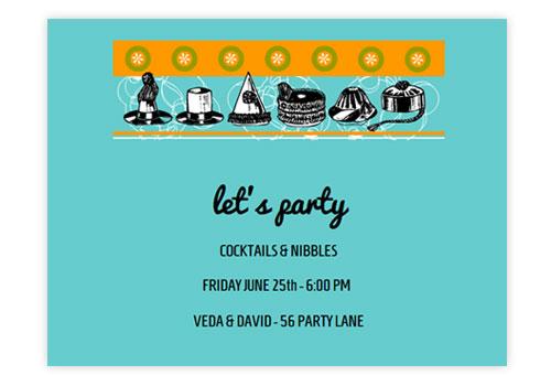 Animated online birthday party invitations vintage birthday hats stopboris Choice Image