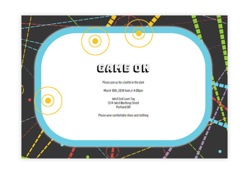 Fun Online Kids Birthday Party Invitations