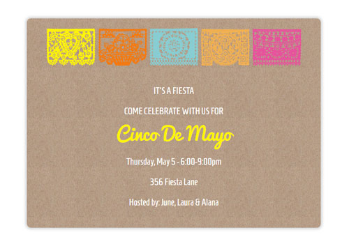 cinco de mayo invitation