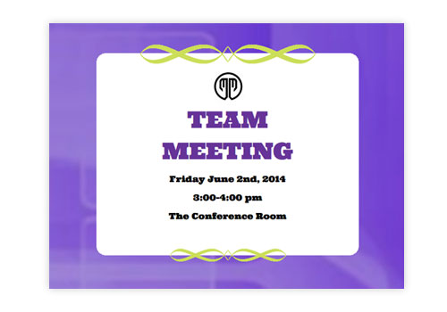 clubs  u0026 meetings einvitations