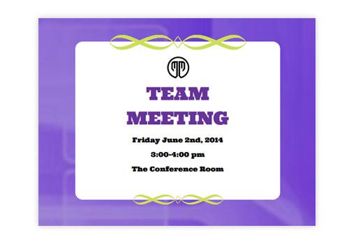 clubs  u0026 meetings einvitations