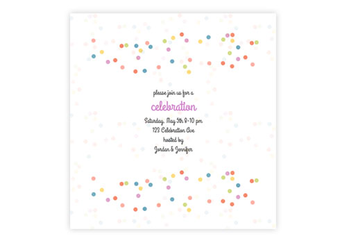 Birthday Party Invitations With Rsvp
