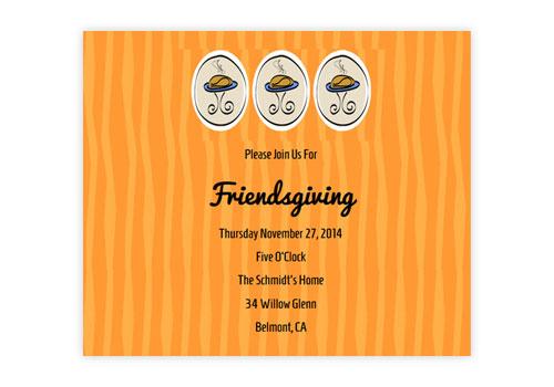 send stylish online thanksgiving invitations